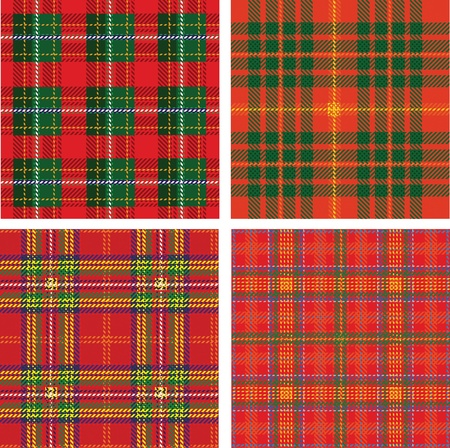 patric: pattern of seamless tartan plaid
