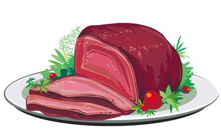 roast pork: Roast pork