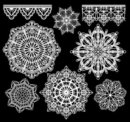 white lace: lace