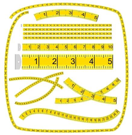 ?tapes: Ruban � mesurer. Brosse Art.