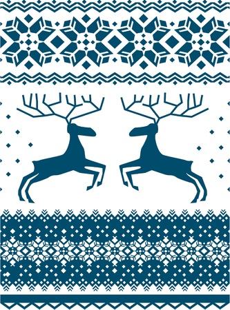 linens: Scandinavian pattern