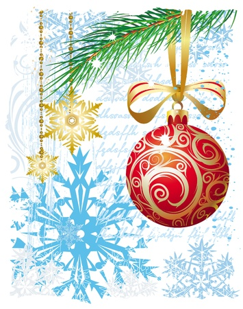 greeting season: Christmas background