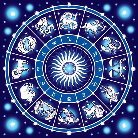 costellazioni: Oroscopo cerchio