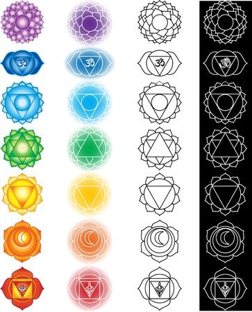 reiki: Seven chakras