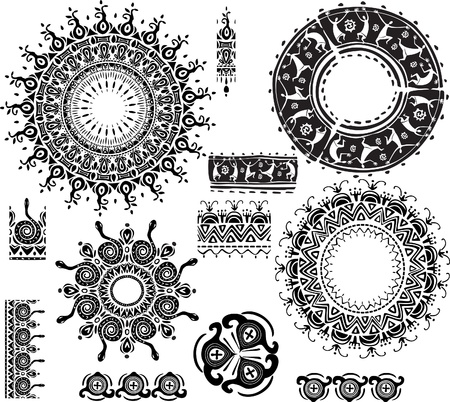 henna design: Marco ornamental Ronda