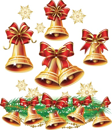 jingle bells: Christmas bell