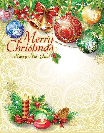 campanas navidad: Fondo de la Navidad