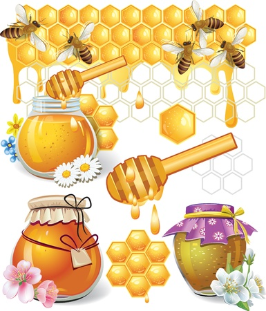 jars: Honey