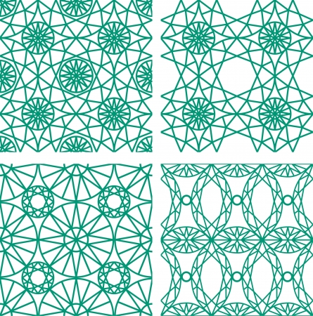 Seamless pattern from diamond cutting Stock Vector - 18702431