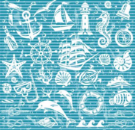 horsefish: Iconos n�uticas y mar�timas establecidos