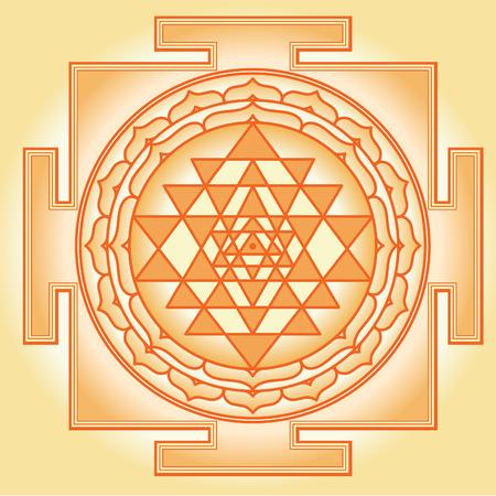 Shri Chakra Yantra Vector
