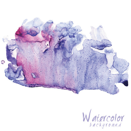 multilayer: Abstract Watercolor vector on white background