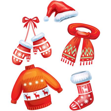 muff: Set of winter accessories