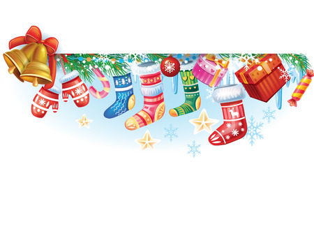 christmas backgrounds: Christmas banner