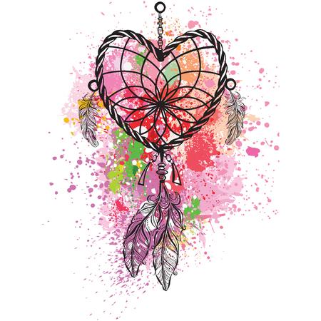rainbow: Dreamcatcher Illustration