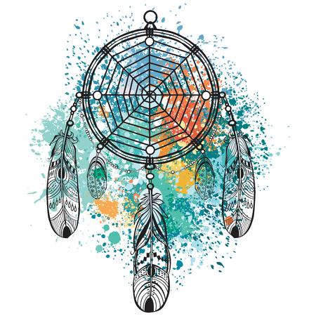 paints: Dreamcatcher Illustration