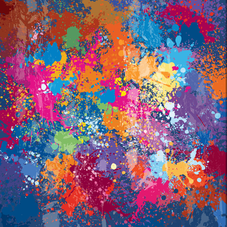 Colorful vector Grunge background