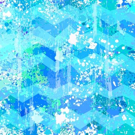 青いベクトル抽象的なグランジ背景