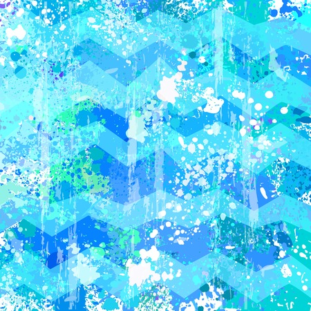 Blue vector abstract Grunge background