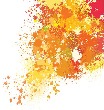 blob: Background of paint splashes