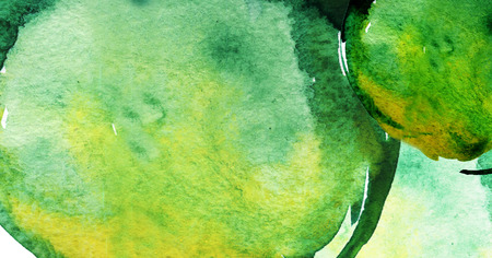 Banner with Hand painted watercolor abstract texture background Banque d'images - 123421590