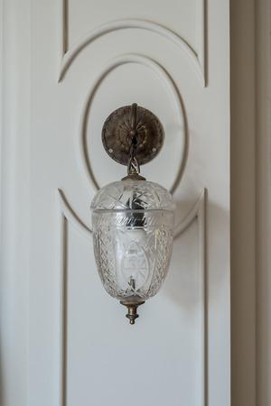 Vintage light on the wall