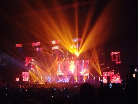 concert stage: Concert stage live show