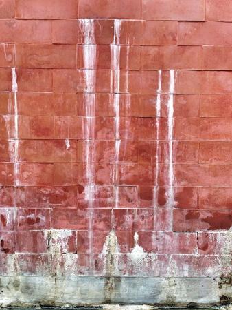 grunge: Rusty grunge brick wall Stock Photo