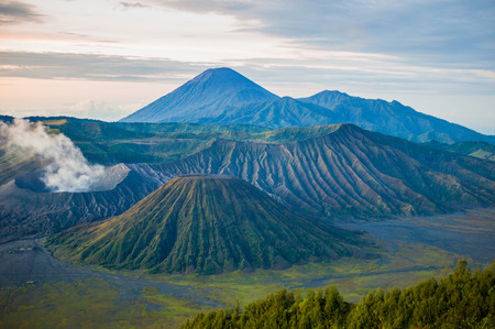 tengger: Bromo Tengger Semeru national park  Java  Indonesia