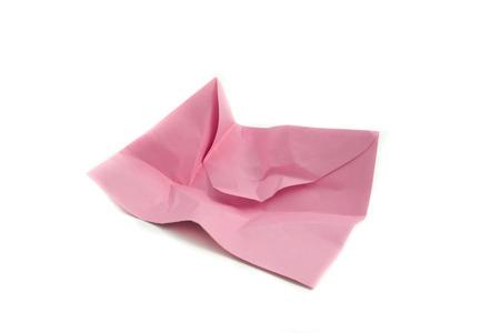 old envelope: Wrinkled envelope Stock Photo