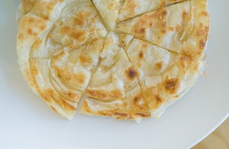 tarik: Homemade fresh Hot Chapati, Roti close up selective forcus Stock Photo