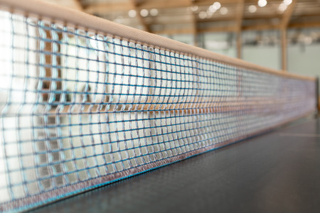 pong: Table Tennis, ping pong net Stock Photo