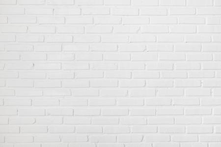 blanco: Textura blanca de la pared de ladrillo limpia y clara