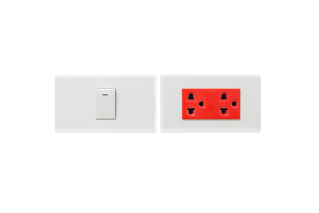 switch plug: electric plug and switch isolated