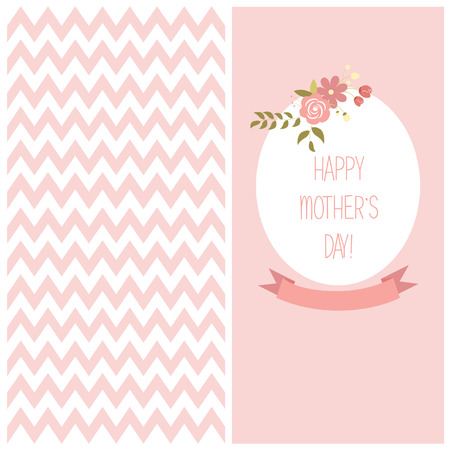 Greeting Mothers day flayers Vector