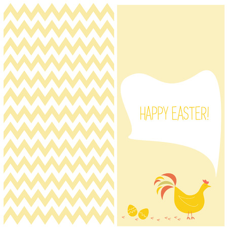 flayers: Greeting easter day flayers Illustration
