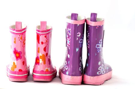 small boots Stock Photo