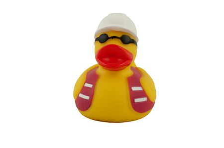 tough rubber duck