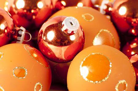 close up of christmas balls Stock Photo - 8152852