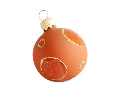 single christmas ball Stock Photo - 8152830