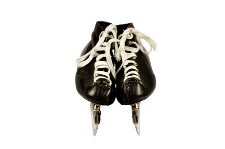 Pair skates isolated on a white background