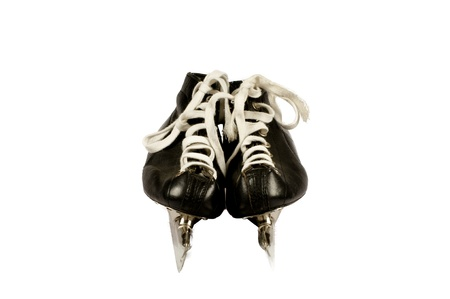 Pair skates isolated on a white background Stock Photo - 8259129