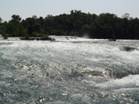 Snel stromende rivier Niagara USA
