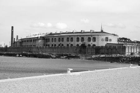 Building of old prison in Tallinn Stock Photo - 4810630