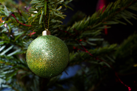 Picture of beautiful christmas tree decoration