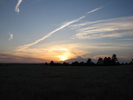 horrizon: TRAIED TREW A SUNSET!