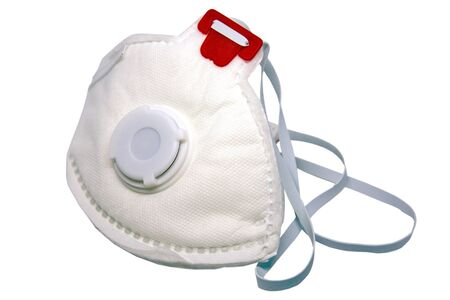 Face protection mask FFP3 against virus or bacteria.