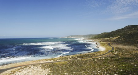 blue Atlantic coast, the Cape of Good Hope, South Africa, Cape Town, travel