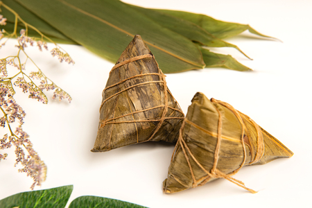 Chinese traditional festivals of Dragon Boat Festival and zongzi