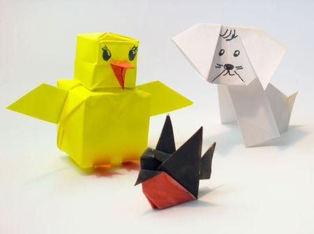 簡単 折り紙 折り紙 ひよこ : jp.123rf.com